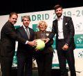 La Copa Davis se presenta en Madrid