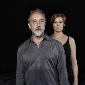 Gonzalo de Castro y Elisabet Gelabert llegan este viernes a Pozuelo con 'Idiota'