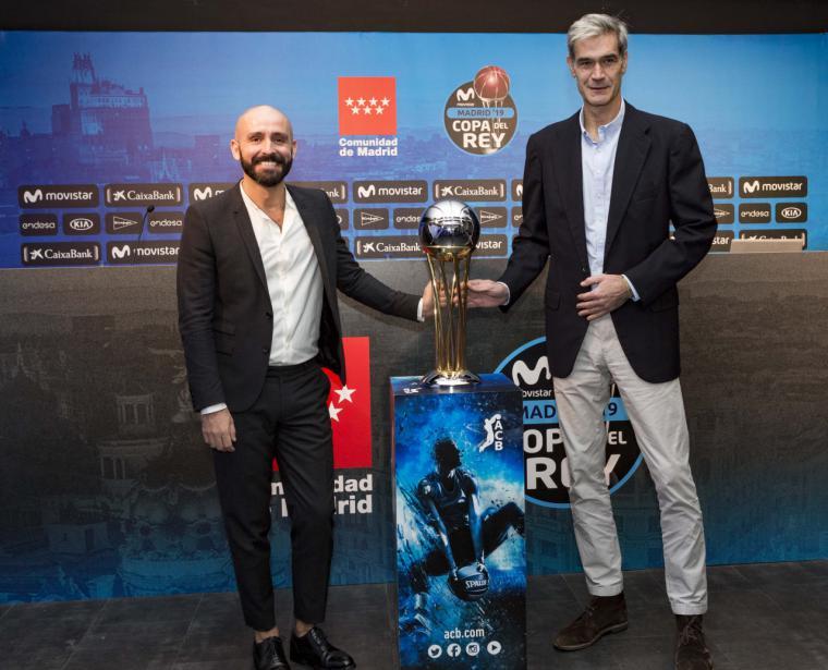 Madrid acogerá la Copa de S.M. el Rey de Baloncesto en 2019