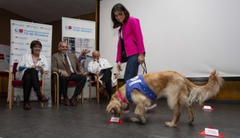 El Hospital 12 de Octubre demuestra los beneficios de la terapia asistida con animales en el tratamiento y rehabilitación de pacientes alcohólicos