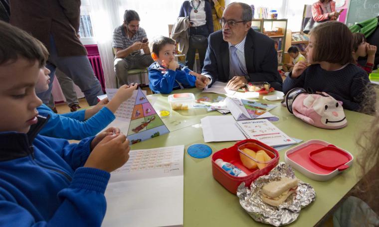 La Comunidad promueve la dieta sana y el ejercicio físico entre escolares de cinco años