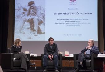 La Comunidad participa en el coloquio 'Benito Pérez Galdós y Madrid'