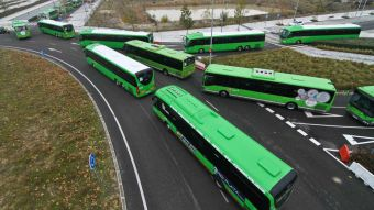 La Comunidad de Madrid refuerza el servicio de autobuses en la Sierra Norte durante los fines de semana y los festivos
