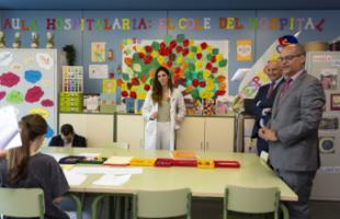 Cerca de 7.000 alumnos recibieron atención educativa en las aulas hospitalarias de la región durante el pasado curso escolar