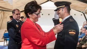 Susana Pérez Quislant: 'El esfuerzo de la Policía Nacional es un acicate para seguir trabajando con profesionalidad y rigor por el bienestar de los ciudadanos'