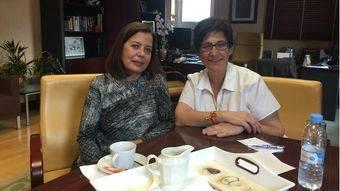 El primer café de la alcaldesa con vecinos de Pozuelo