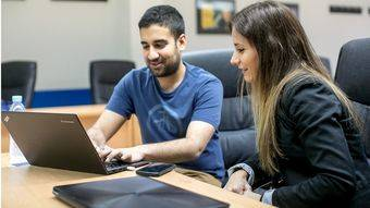Alumnos del Máster en Dirección de Marketing y Gestión Comercial (GESCO) de ESIC.