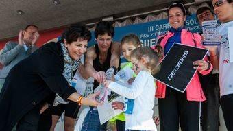 Nuevo éxito de la carrera solidaria 'Un juguete, una ilusión' en Pozuelo