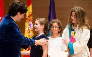María, Rafael y Clara, Premios a la Excelencia en Pozuelo