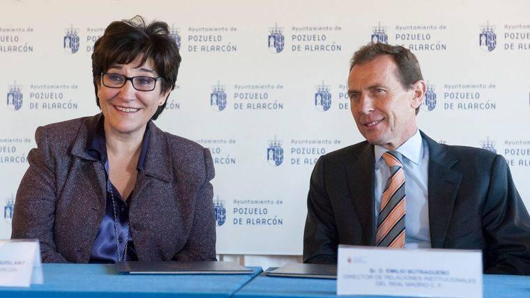 La Escuela de Fútbol de la Fundación Real Madrid en Pozuelo