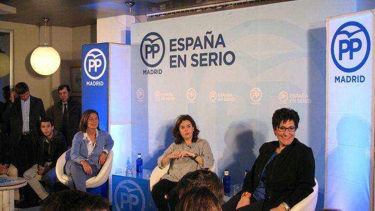 Soraya Sáenz de Santamaría en Pozuelo