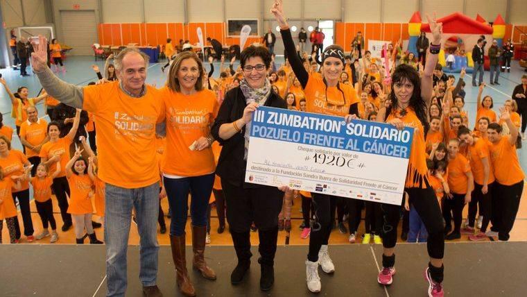 La Fundación Sandra Ibarra recauda casi 2.000 euros en el Zumbathón de Pozuelo