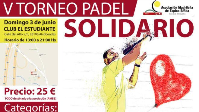 Pádel solidario a favor de la Espina Bífida