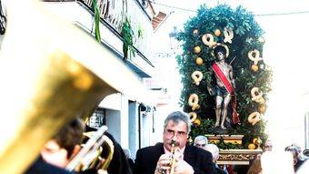 Pozuelo celebra San Sebastián bajo el sol