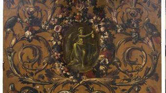 La Comunidad declara BIC las pinturas Alegoría del fuego y Alegoría de América de Guillermo de Anglois