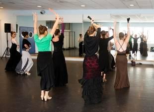 Danzando con Aida en Pozuelo