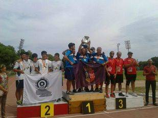 Los Arqueros de Pozuelo, campeones de España