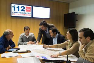 Paloma Adrados supervisa el operativo regional de inclemencias invernales