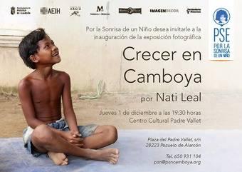 La exposición fotográfica 'Crecer en Camboya' también pasará por Pozuelo