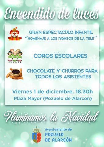 """Pozuelo de Alarcón """"enciende"""" la Navidad este viernes en la Plaza Mayor"""