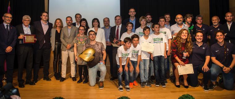 """El piloto de rallyes e """"Hijo Adoptivo"""" de la ciudad, Carlos Sainz recibe el Premio Especial """"Pozuelo Espíritu Deportivo 2017"""""""