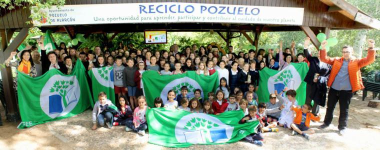 Pozuelo de Alarcón reconoce el compromiso de los escolares de la ciudad con el Medio Ambiente