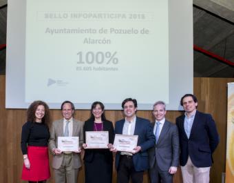 El Ayuntamiento de Pozuelo consigue la máxima puntuación en la calidad y transparencia de la comunicación pública local