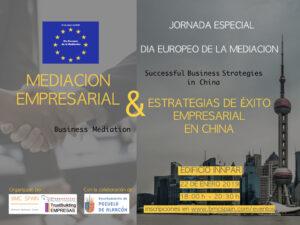 """Jornada """"Mediación Empresarial y estrategias de éxito empresarial en China"""""""