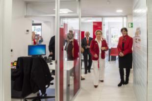 Cruz Roja amplía su espacio de atención en la recién remodelada sede de Pozuelo de Alarcón