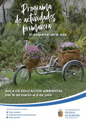 El Ayuntamiento de Pozuelo organiza nuevas actividades para disfrutar de la primavera y la naturaleza en el Aula de Educación Ambiental