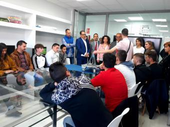 27 centros educativos públicos de la región cuentan con Aulas Profesionales de Emprendimiento