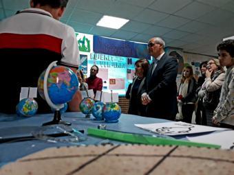 Alumnos de la Comunidad de Madrid celebran el V centenario de la primera vuelta al mundo