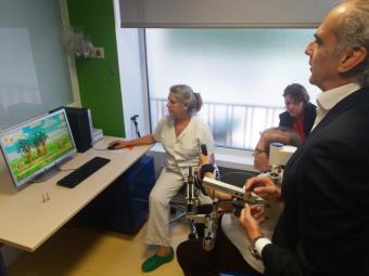 La Comunidad incorpora un robot para la rehabilitación en el Hospital de Guadarrama