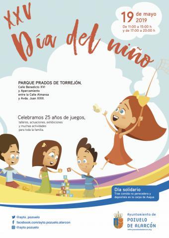 Pozuelo de Alarcón celebra este domingo la XXV edición del Día del Niño en el Parque Prados de Torrejón