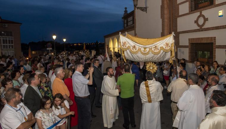 Pozuelo de Alarcón celebró la procesión del Corpus Christi