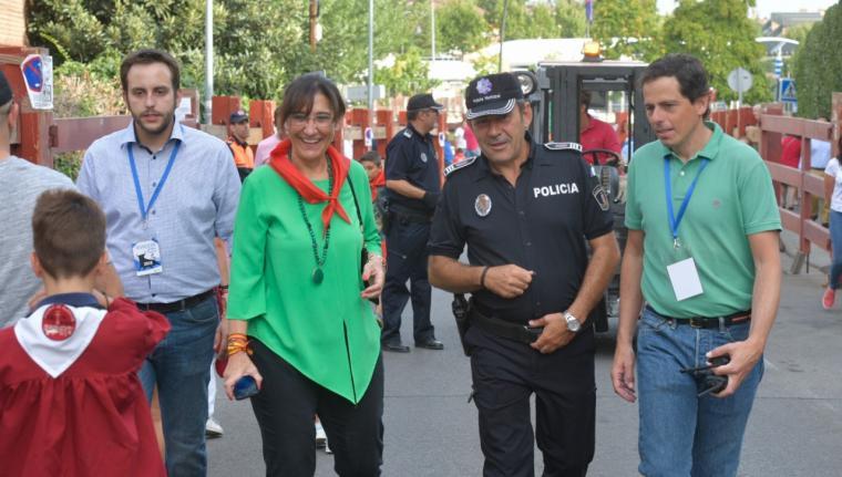 Miles de pozueleros podrán disfrutar de las distintas actividades festivas en las que cerca de 100 efectivos velarán por su seguridad