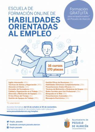 Escuela de Formación online de Habilidades Orientadas al Empleo