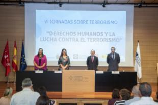 """Susana Pérez Quislant: """"Alcanzar un futuro sin terrorismo, sin acciones violentas, sólo es posible si lo afrontamos con unidad, con firmeza, con solidaridad y con respaldo"""""""