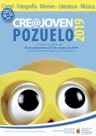 Últimos días para presentar las obras al Certamen Cre@ Joven Pozuelo que organiza el Ayuntamiento para fomentar el talento artístico y creativo