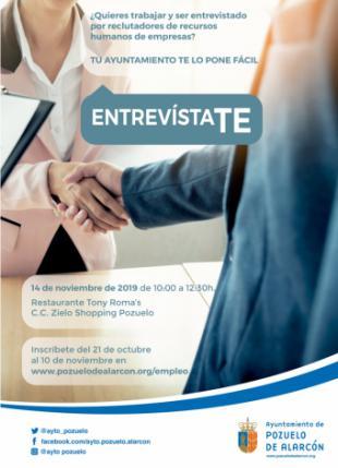 """La VI edición del encuentro """"EntrevistaTE"""" registra el mayor número de empresas ofertantes de empleo desde su inicio"""