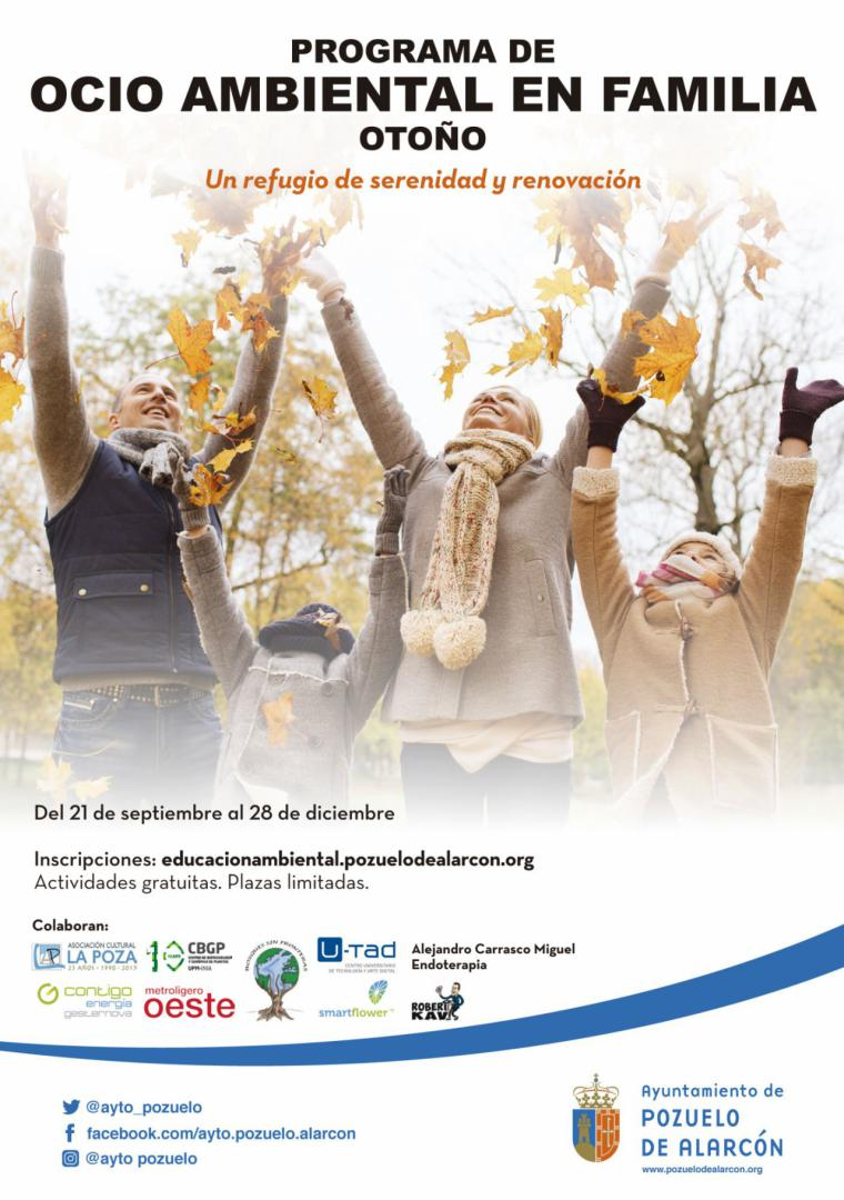 El Ayuntamiento organiza un programa de talleres y actividades para disfrutar en familia en el Aula de Educación Ambiental