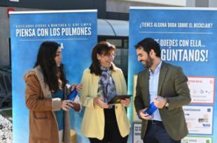 """El Ayuntamiento de Pozuelo se suma a la campaña """"Piensa con los Pulmones"""" de Ecoembes"""
