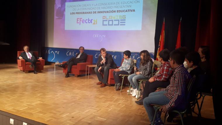 La Comunidad de Madrid apoya los proyectos de innovación en los centros educativos madrileños