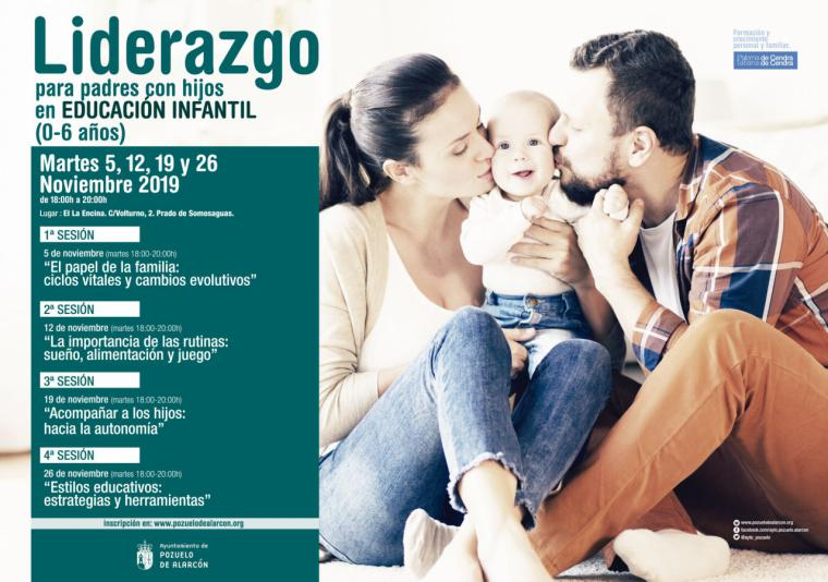 El Ayuntamiento de Pozuelo de Alarcón pone en marcha un nuevo programa de Formación para Padres