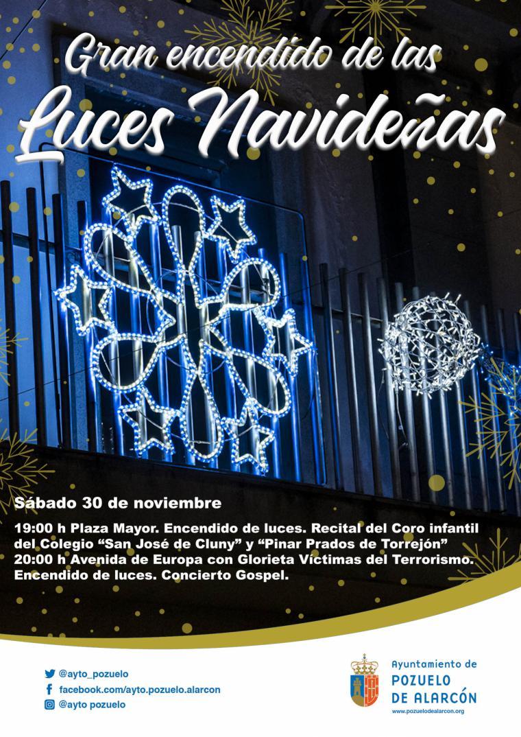 Pozuelo de Alarcón ilumina la Navidad este sábado con un doble encendido de luces en la Plaza Mayor y en Avenida de Europa