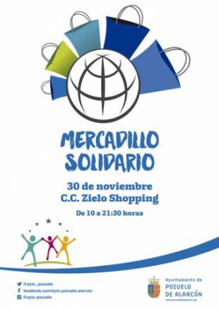 El Ayuntamiento organiza un Mercadillo Solidario este sábado en el que participarán una veintena de asociaciones