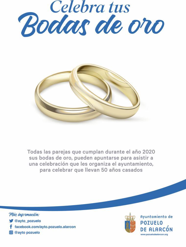 El Ayuntamiento de Pozuelo organiza un homenaje a las parejas que el próximo año celebren sus Bodas de Oro