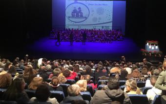Más de 600 alumnos de Pozuelo de Alarcón han participado en la Muestra Escolar de Música Navideña