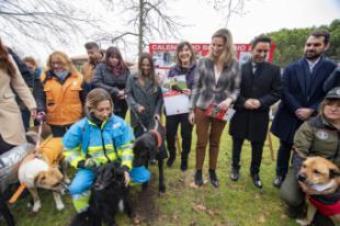 Pozuelo de Alarcón acoge la presentación del calendario solidario contra el abandono y por la adopción de mascotas