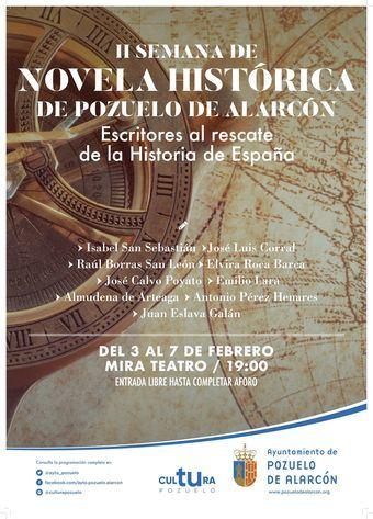 """José Zoilo Hernández se alza con el I Premio de Novela Histórica de Pozuelo de Alarcón con """"El alano"""""""